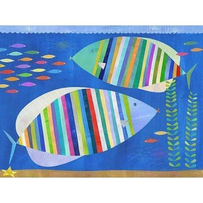 Tropical Fish Friends | Canvas Wall Art-Canvas Wall Art-Jack and Jill Boutique