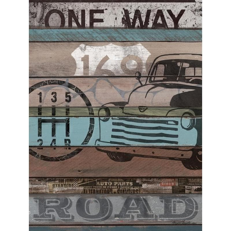 Truck | American Byways Collection | Canvas Art Prints-Canvas Wall Art-Jack and Jill Boutique