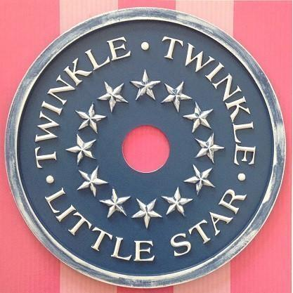 Twinkle Twinkle Little Star Ceiling Medallions-Medallions-Jack and Jill Boutique
