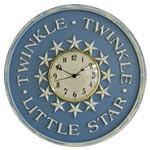 Twinkle Twinkle Wall Clock-Wall Clock-Jack and Jill Boutique