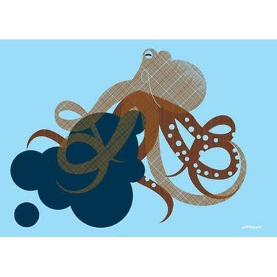 Undersea Octopus | Canvas Wall Art-Canvas Wall Art-Jack and Jill Boutique