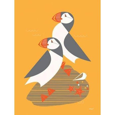 Undersea Puffins | Canvas Wall Art-Canvas Wall Art-Jack and Jill Boutique