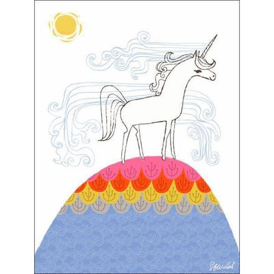 Unicorn Hill | Canvas Wall Art-Canvas Wall Art-Jack and Jill Boutique