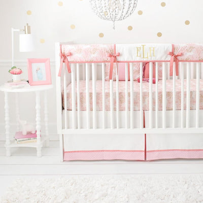 Unicorn in Pink Crib Baby Bedding Set - Unicorn Crib Bedding-Crib Bedding Set-Default-Jack and Jill Boutique