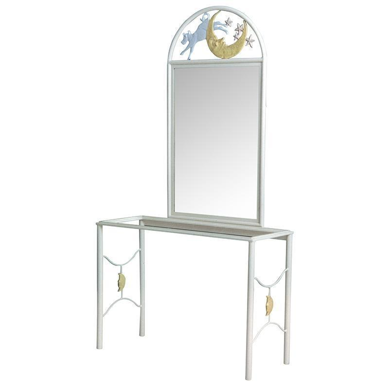 Vanity Mirror w/ Cow Jumped over the Moon
