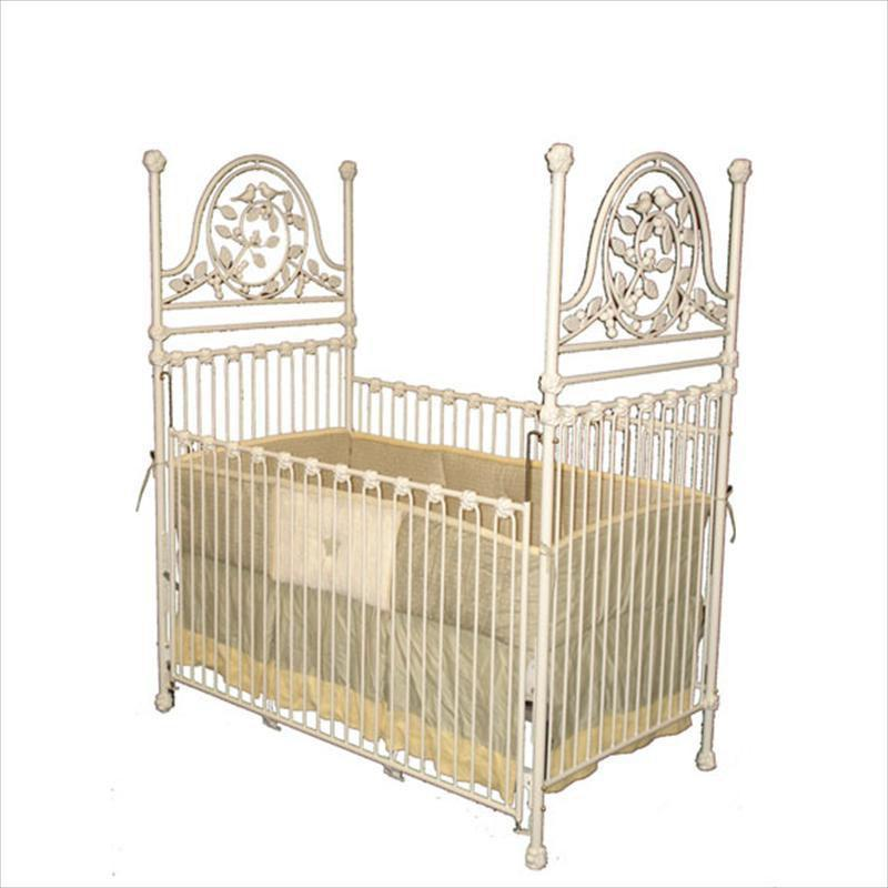 Versailles Garden Stationary Crib-Crib-Jack and Jill Boutique
