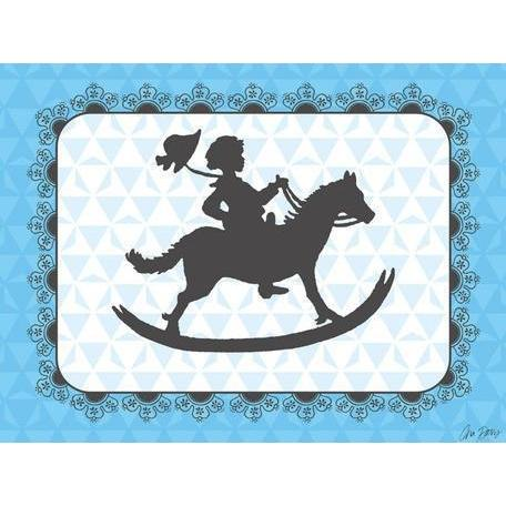 Victorian Details - Rocking Horse | Canvas Wall Art-Canvas Wall Art-Jack and Jill Boutique