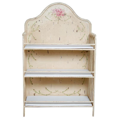 Vine and Rose Painted Changing Table-Changing Table-Default-Jack and Jill Boutique