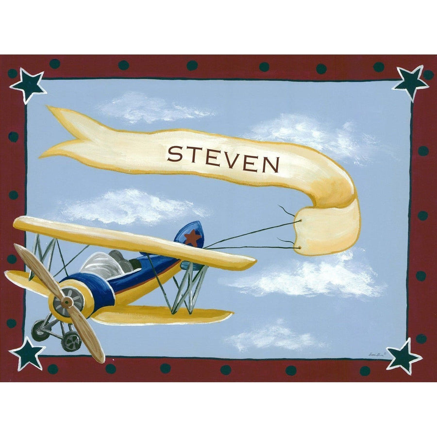 Vintage Bi-Plane Canvas Wall Art-Canvas Wall Art-Jack and Jill Boutique
