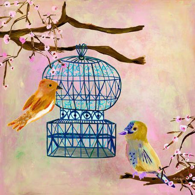 Vintage Birdhouse | Canvas Wall Art-Canvas Wall Art-Jack and Jill Boutique