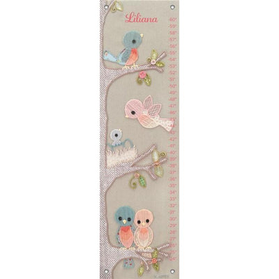 Vintage Birdies Growth Charts-Growth Charts-Default-Jack and Jill Boutique