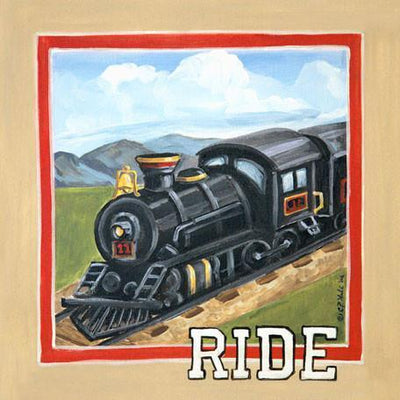 Vintage Ride | Canvas Wall Art-Canvas Wall Art-Jack and Jill Boutique