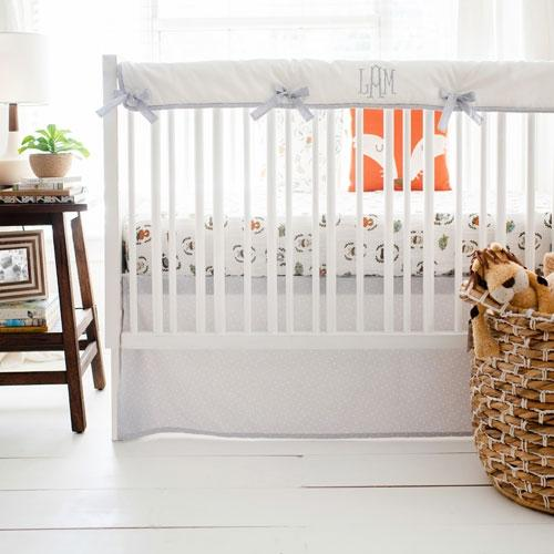 Woodland Animals Bedding Set-Crib Bedding Set-Jack and Jill Boutique