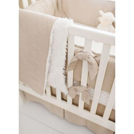 Washed Linen in Flax Baby Bedding Set