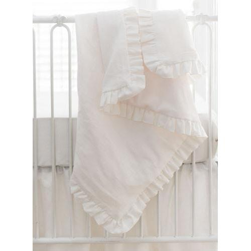 Washed Linen in Ivory Baby Bedding Set-Crib Bedding Set-New Arrivals-Jack and Jill Boutique