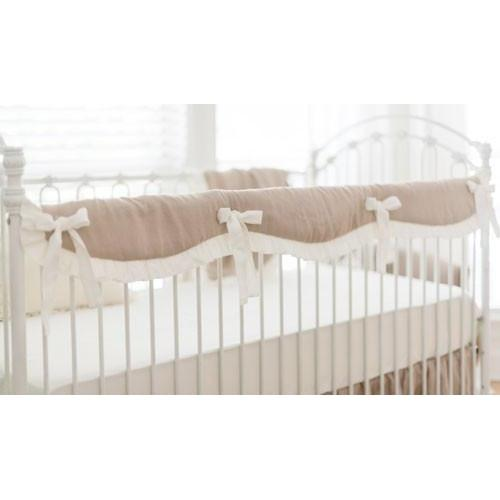 Washed Linen in Natural Baby Bedding Set-Crib Bedding Set-New Arrivals-Jack and Jill Boutique