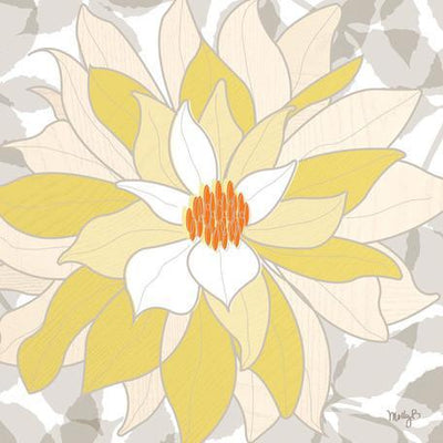 White Dahlia | Canvas Wall Art-Canvas Wall Art-Jack and Jill Boutique