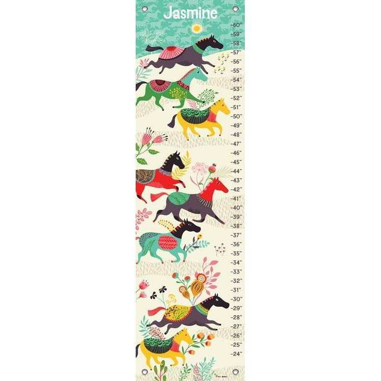 Wild Horses Growth Charts Jack And Jill Boutique