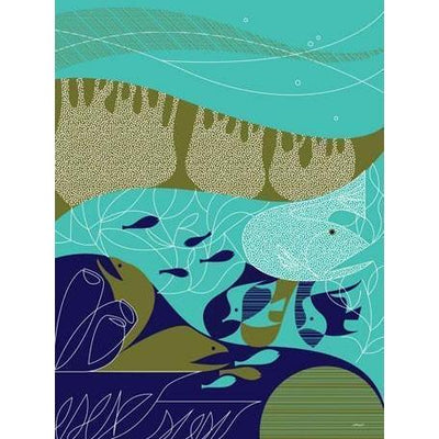 Wild Things of Oz - Great Barrier Reef | Canvas Wall Art-Canvas Wall Art-Jack and Jill Boutique
