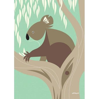 Wild Things of Oz - Koala | Canvas Wall Art-Canvas Wall Art-Jack and Jill Boutique