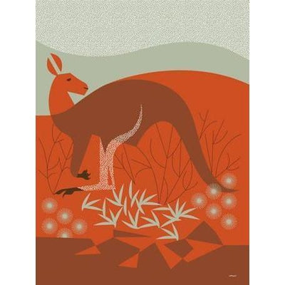 Wild Things of Oz - Uluru | Canvas Wall Art-Canvas Wall Art-Jack and Jill Boutique