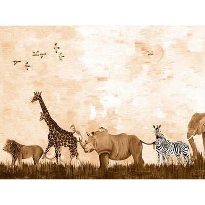 Wild Things - Sepia | Canvas Wall Art-Canvas Wall Art-Jack and Jill Boutique