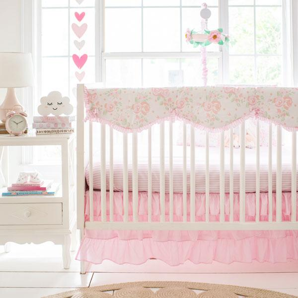 Floral Crib Bedding | 9 Piece Wildflower Collection-Crib Bedding Set-Jack and Jill Boutique