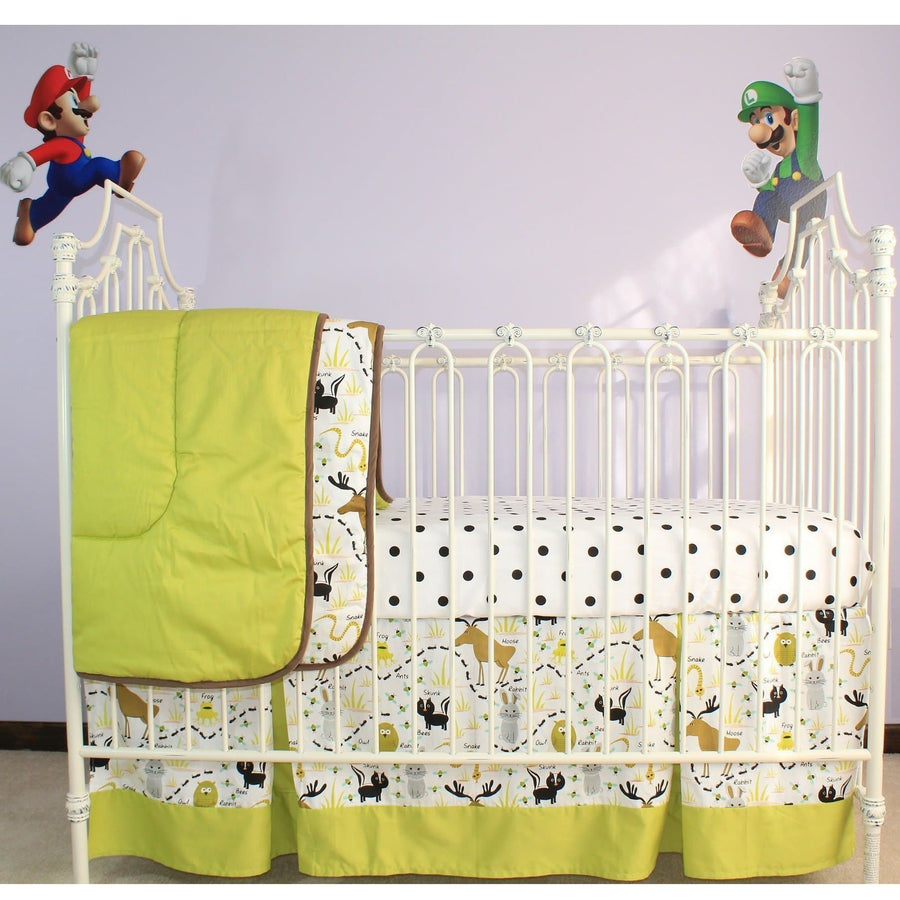 Modern Black And White Crib Bedding Collection Jack And Jill Boutique