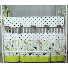 Woodland Animals Crib Bedding | Animal Print Baby Bedding Set-Crib Bedding Set-Bold Bedding-Jack and Jill Boutique