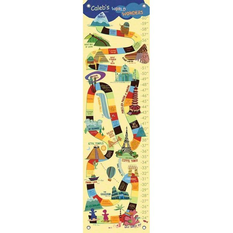 World Wonders Growth Charts-Growth Charts-Default-Jack and Jill Boutique