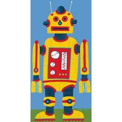 Yellow Robot | Canvas Wall Art-Canvas Wall Art-Jack and Jill Boutique