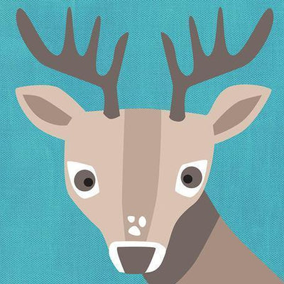 Young Buck | Canvas Wall Art-Canvas Wall Art-Jack and Jill Boutique
