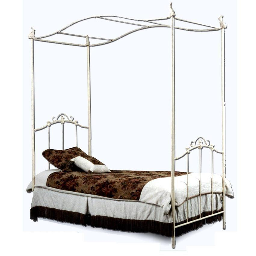 Youth Canopy Bed w/ Bunnies-Kids Bed-Default-Jack and Jill Boutique