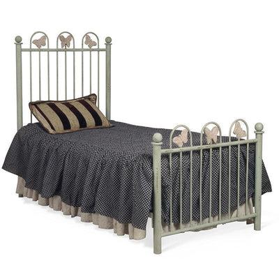 Youth Standard Bed w/ Butterflies-Brass Bed-Jack and Jill Boutique