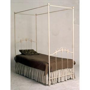 Youth Straight Canopy Bed w/ Teddy Bears-Kids Bed-Default-Jack and Jill Boutique