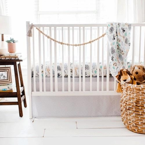 Jungle Crib Bedding Set-Crib Bedding Set-Jack and Jill Boutique