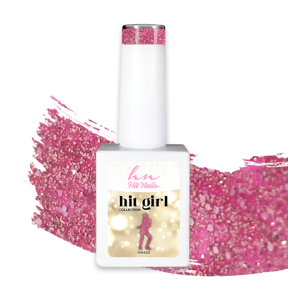 GEL POLISH HIT GIRL 10ML - HN453 - Tânia Caetano