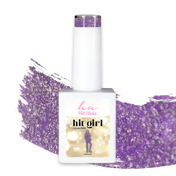 GEL POLISH HIT GIRL 10ML - HN455 - Tânia Caetano