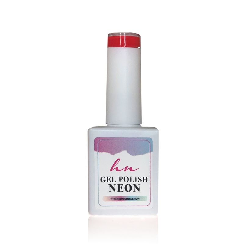 GEL POLISH NEON RED 10ML