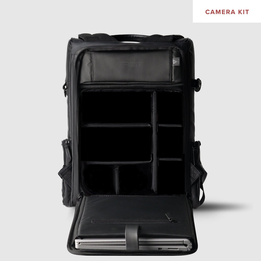 TYPE-II: Black Matte Backpack (Pre-Order)
