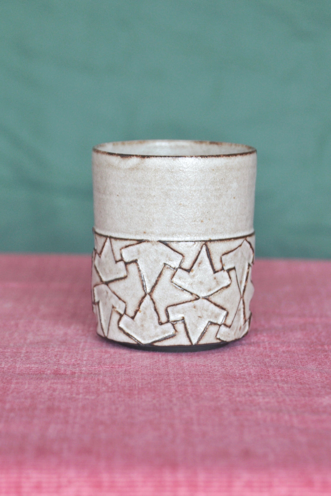 handcarved cup
