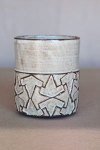 Handcrafted ceramic cup