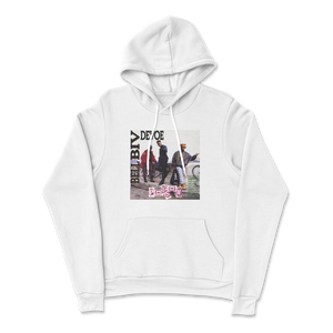 Poison Logo Hoodie in White (Pre-Order)