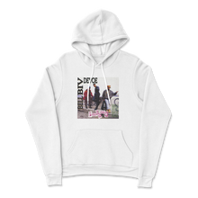 "Load image into Gallery viewer, ""Poison Album Art"" Hoodie In White"