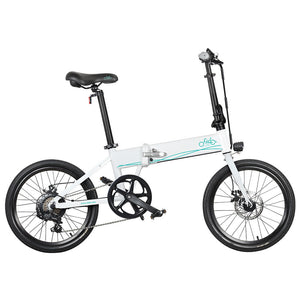 FIIDO D4s 10.4Ah 36V 250W 20 Inches Folding Moped Bicycle 25km/h Top Speed 80KM Mileage Range Electric Bike