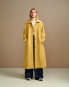 Bellerose Manteau Trench jaune