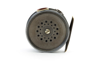 "Hardy - Perfect 3 3/8"" Fly Reel - 1912 Check w/ Red Agate!"