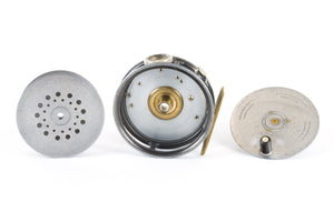 "Hardy - Perfect 3 3/8"" Fly Reel - Made for Dame Stoddard, Boston MA."