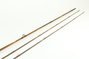 "Hoffhines, R. W. - 7'6"" 4wt 2/2 Quad Bamboo Fly Rod"