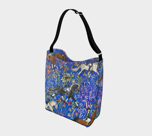 """Dressage in Provence"" Day Tote! Designed By Frederique Poulain."